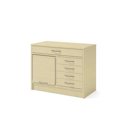 Cabinet 41907 | Drawers, jalousie, partition