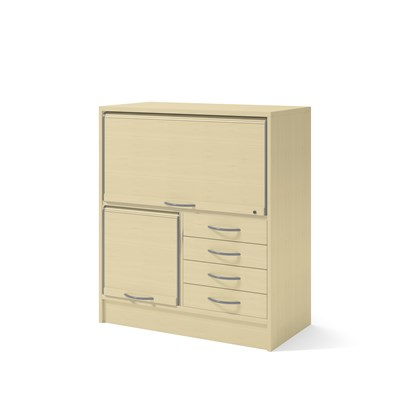 Cabinet 41602 | Jalousie, drawers