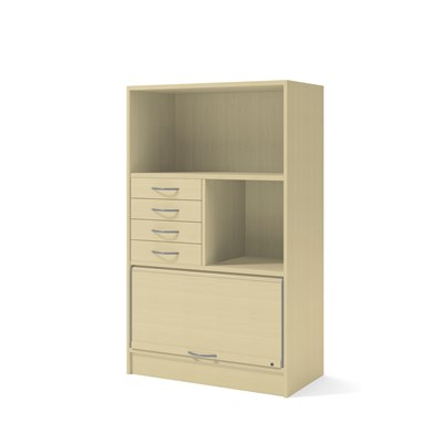 Cabinet 41802 | Partition, jalousie, drawers