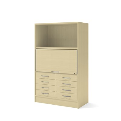 Cabinet 41802 | Jalousie, partition, drawers