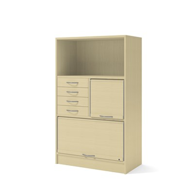 Cabient 41802 | Jalousies, drawers, partition