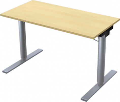 Complete table incl Ergofunk II stand | 1200 x 600 mm