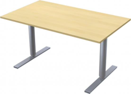 Complete table incl Ergofunk II stand | 1400 x 800 mm