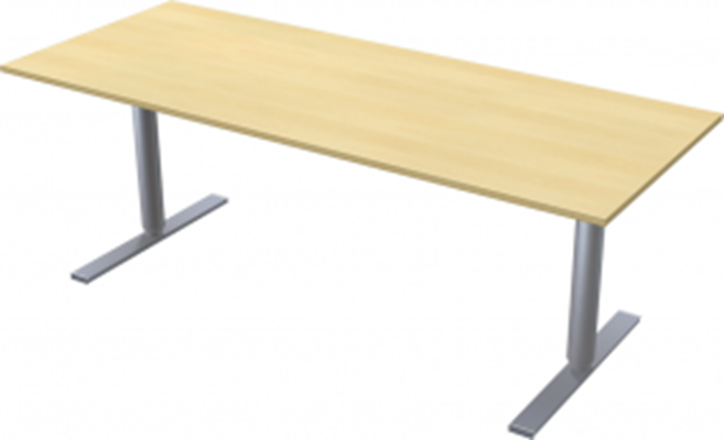 Complete table incl Ergofunk II stand | 2000 x 800 mm