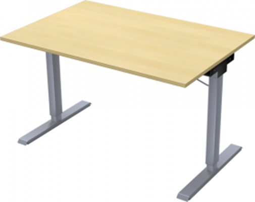 Complete table incl Ergofunk II stand | 1200 x 800 mm