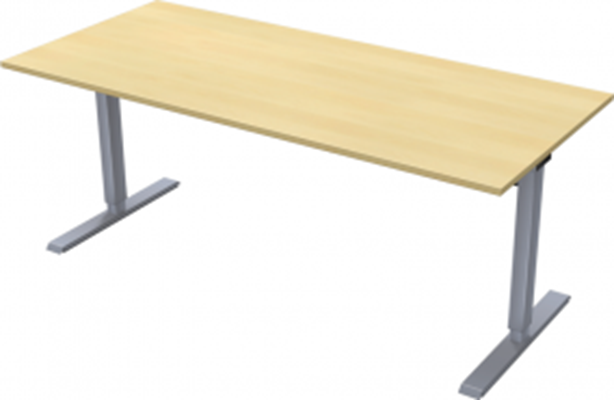 Complete table incl Ergofunk II stand | 1800 x 800 mm