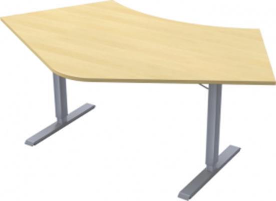 Complete table incl Ergofunk II stand | 120°