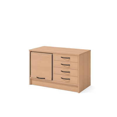 Cabinet 41202 | Jalousie and drawers
